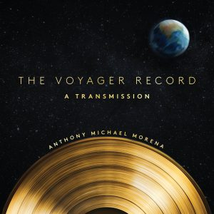 the voyager record rose metal press
